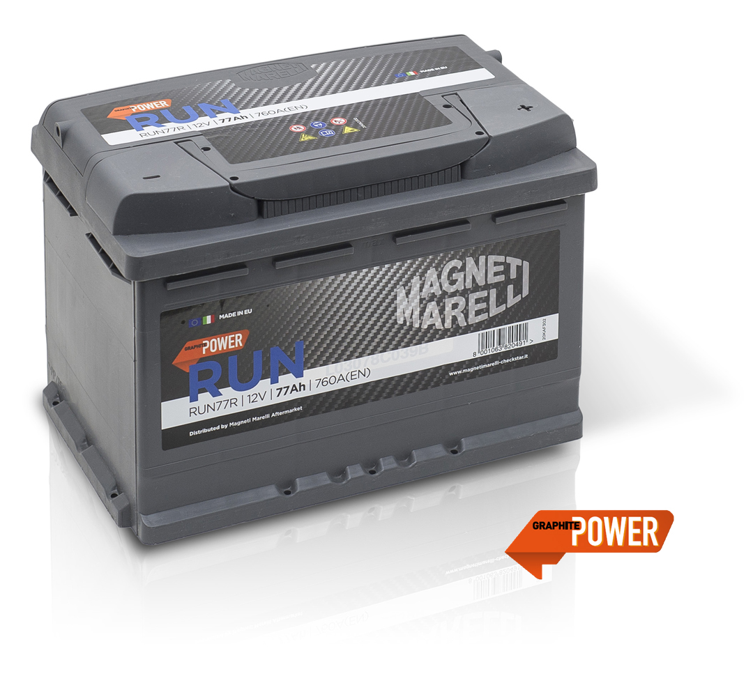 Magneti Marelli Parts & Services - New starter Batteries catalogue