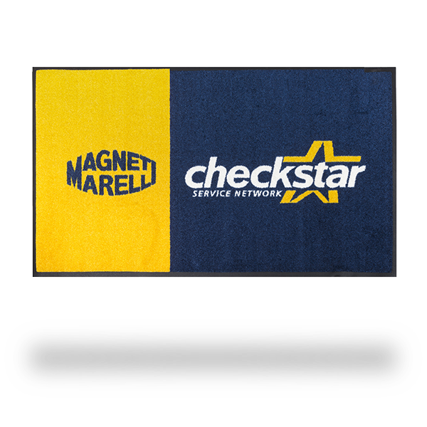 Checkstar Floor Mat